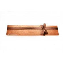 Коробка подарочная, коричневая, 21х4см, арт.box08-03